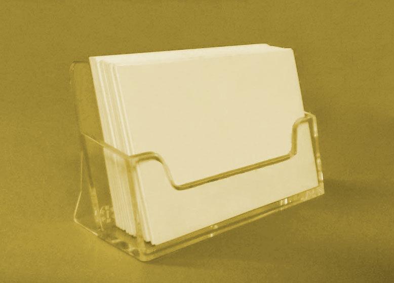 Visitenkartenhalter Visitenkartenständer Acrylglas