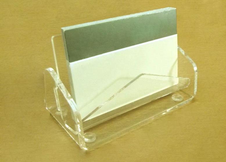 Visitenkartenständer Acrylglas